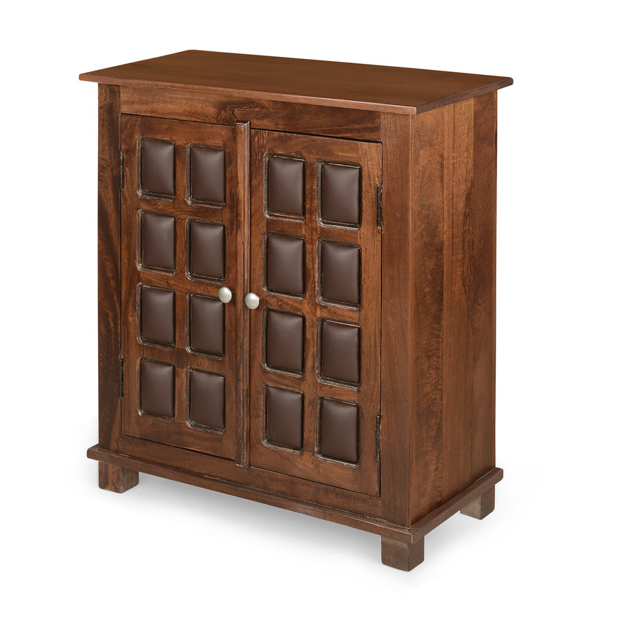Buddha Storage Cabinet (Dark Walnut)