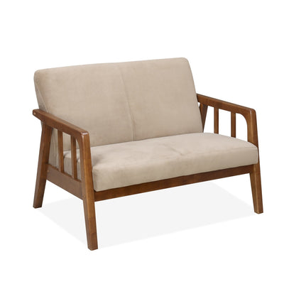 Burke Two Seater Sofa (Coffee)