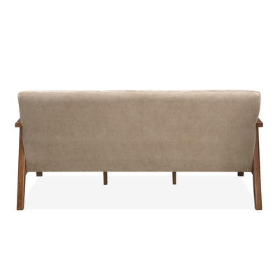 Burke Three Seater Sofa (Coffee)