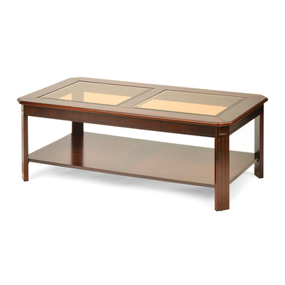 Cindy Center Table (Bronze Walnut)