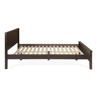 Cipher Queen Bed Without Storage (Espresso)