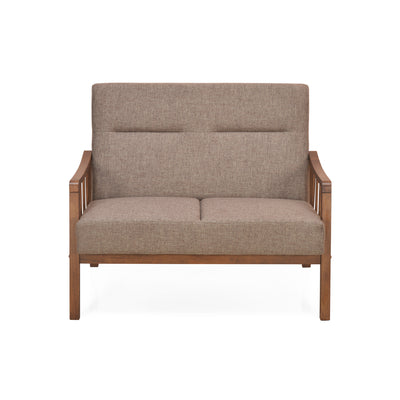 Colette Two Seater Sofa (Brown)