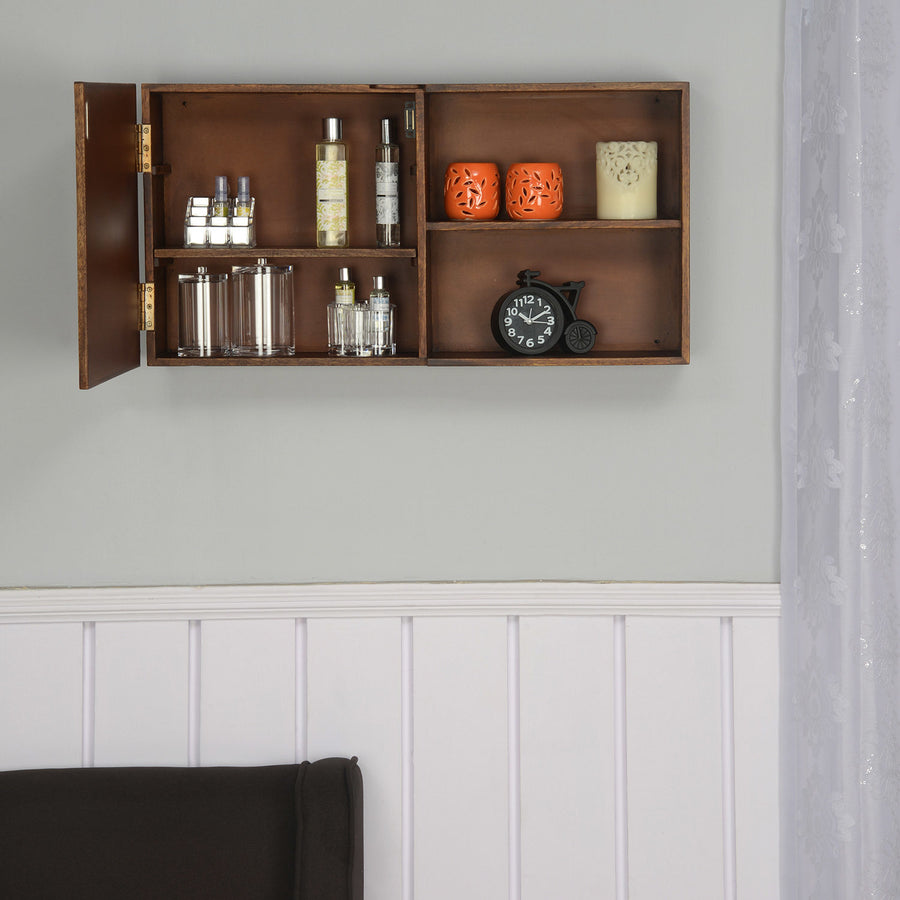 Colton Horizontal Wall Cabinet (Walnut)