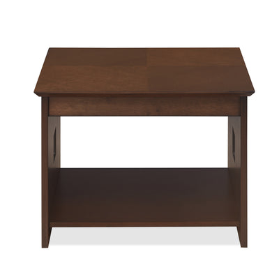 Crown Side Table (Mindi Brown)