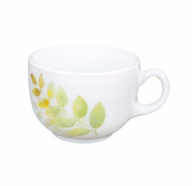 Laopala Autumn Shadow 160 ml Cup & Saucer Set Of 6 (Multicolor)