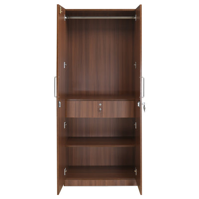 Cyclopes Two Door Wardrobe (Walnut)