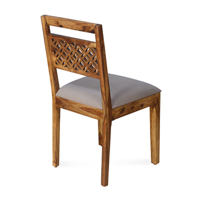Dalia Dining Chair (Natural Walnut)