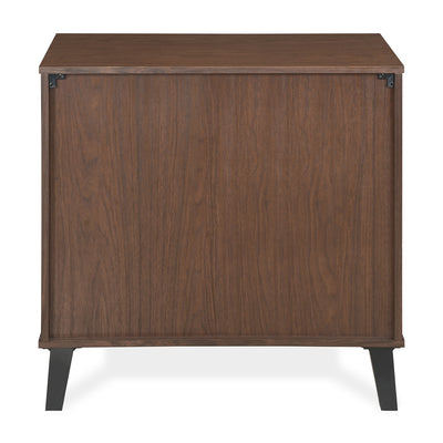 Dane Small Shoe Cabinet  (Walnut)