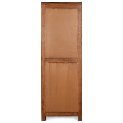 Delmonte Left Door Curio Cabinet (Walnut)