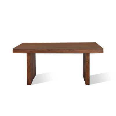 Delmonte Six Seater Dining Table (Walnut)
