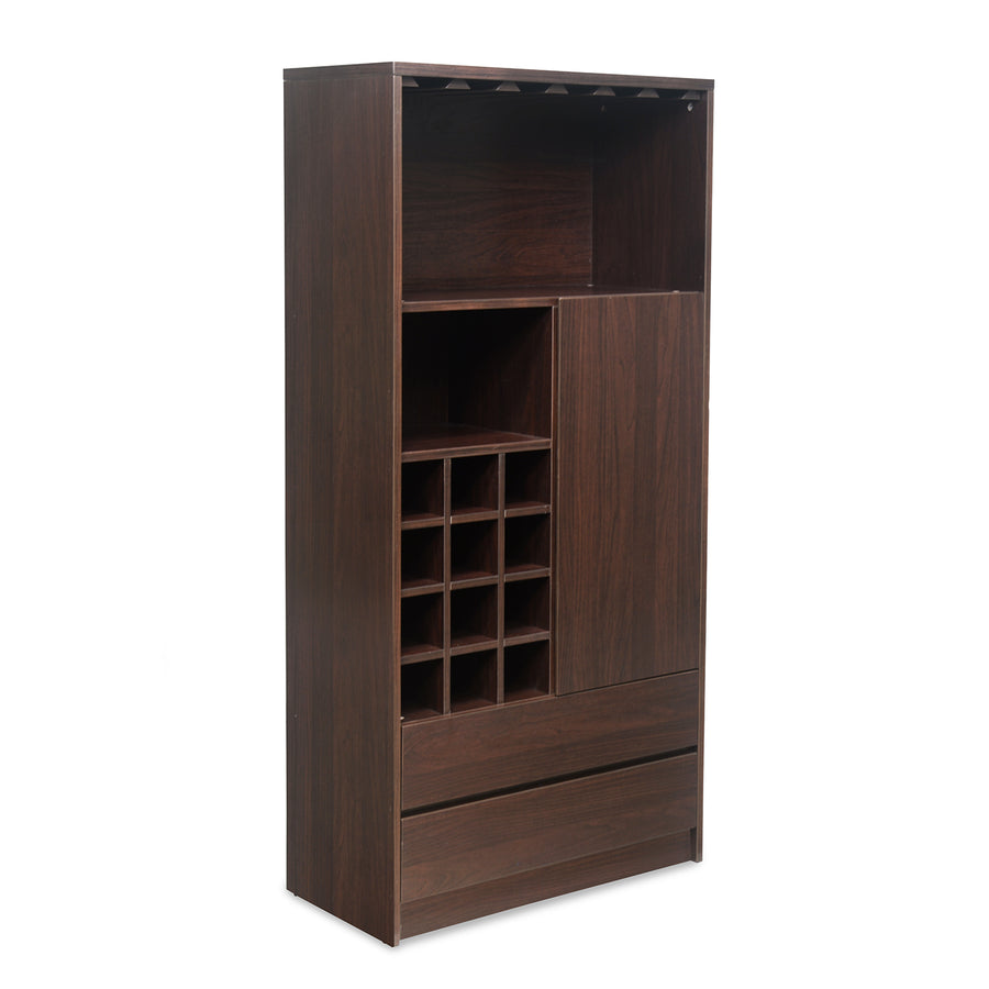 Denver Big Bar Cabinet (Dark Walnut)