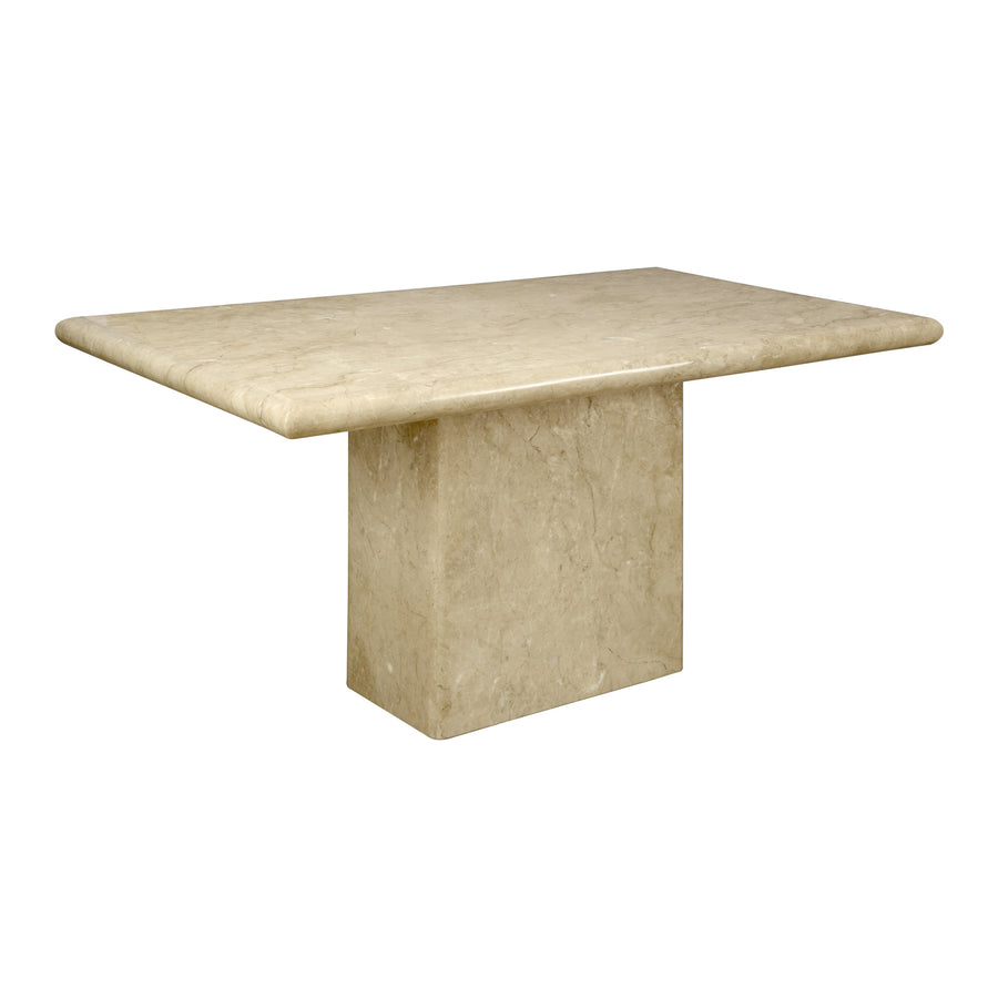 Desire Six Seater Dining Table (Yellow)