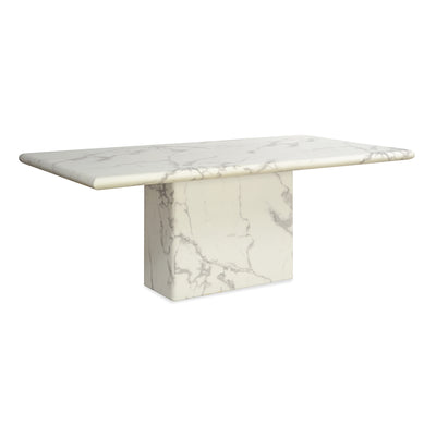 Desire Eight Seater Dining Table (White)