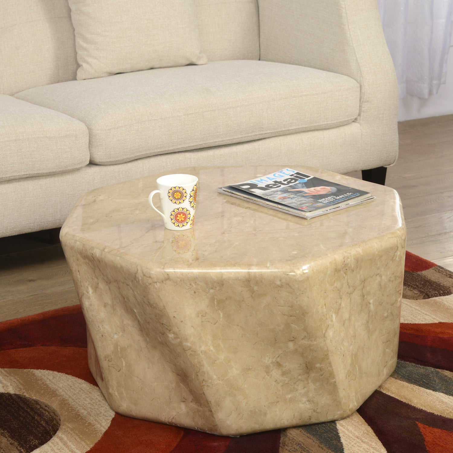 Picture of: Desire Center Table Yellow Nilkamal At Home Home