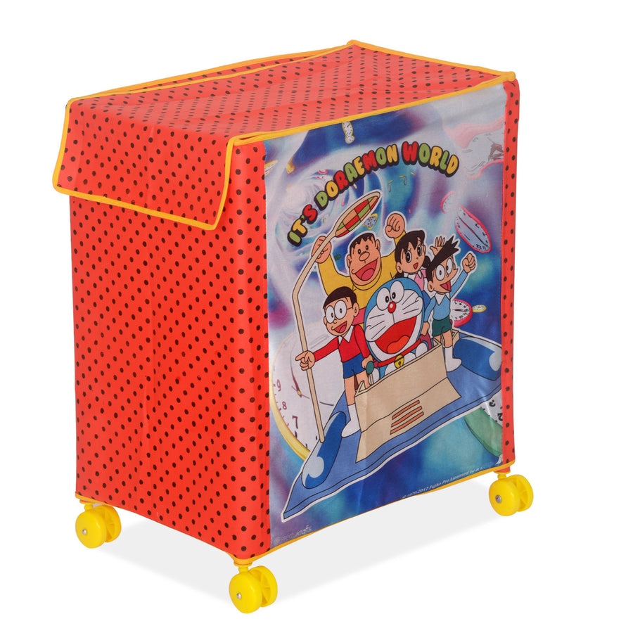 Doremon Kids Toy Storage (Red)