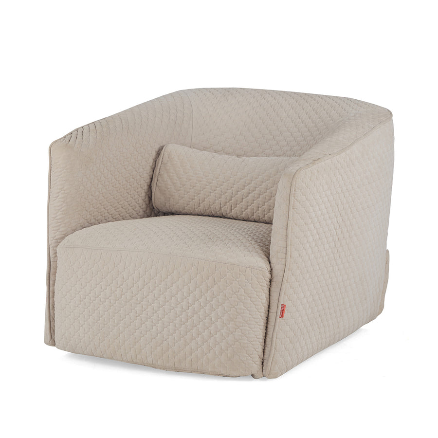 Dorian Occassional Chair (Beige)