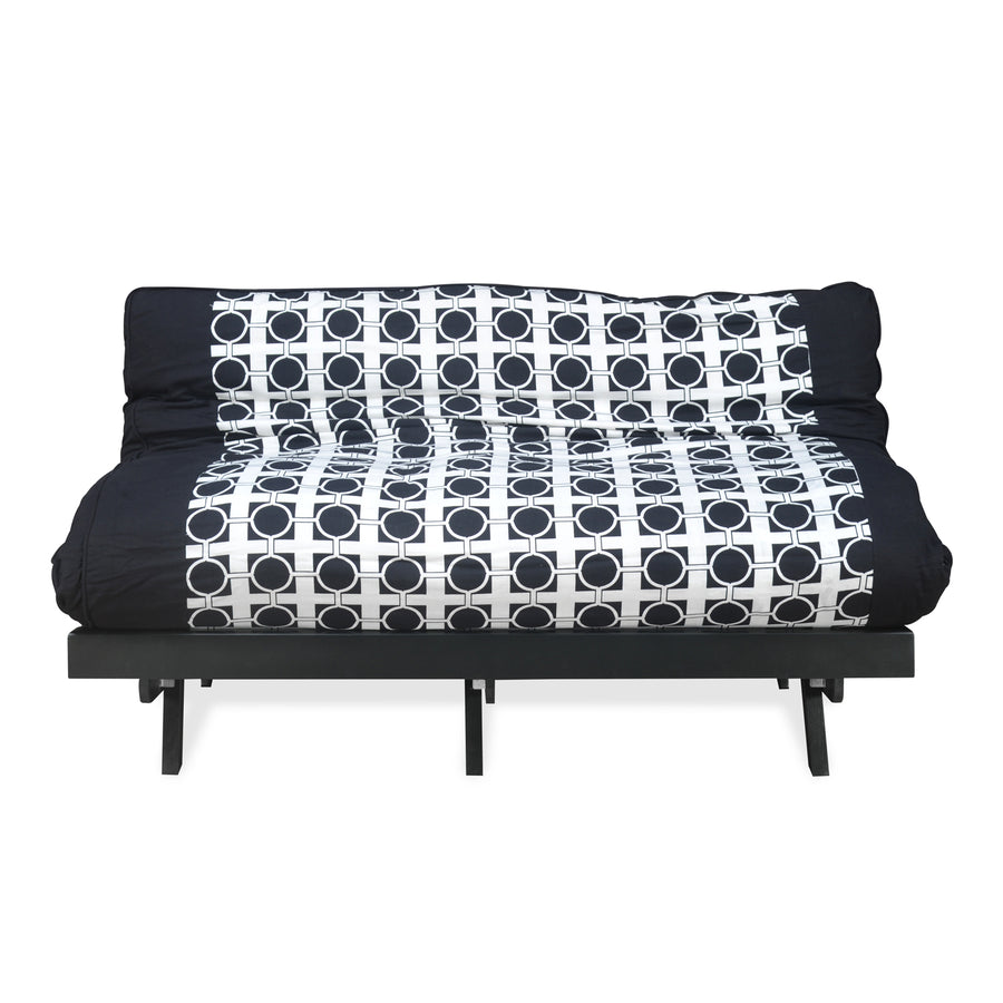Double Futon (Dark Black)