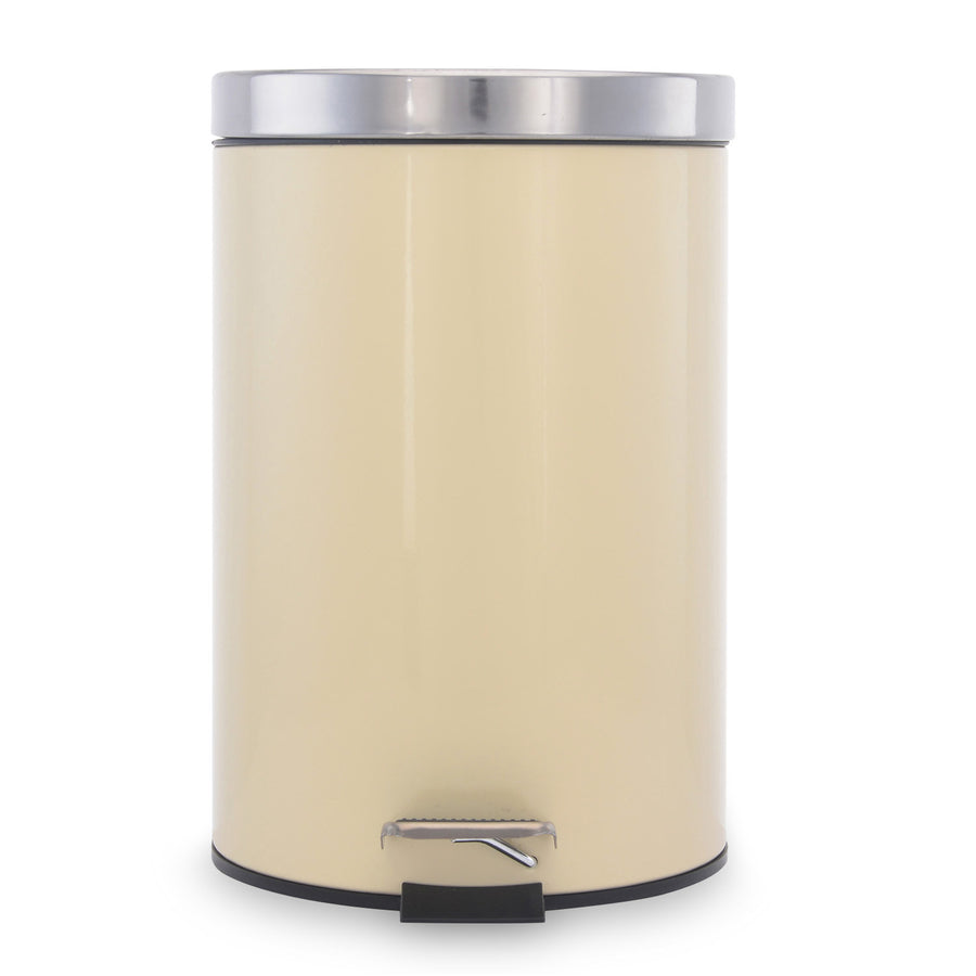 Classic 7 Litre Step Dustbin (Beige)