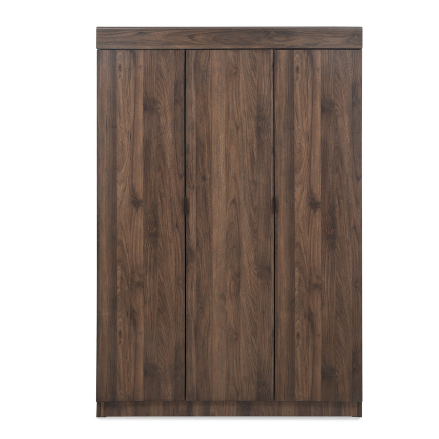 Edward Three Door Wardrobe (Walnut)