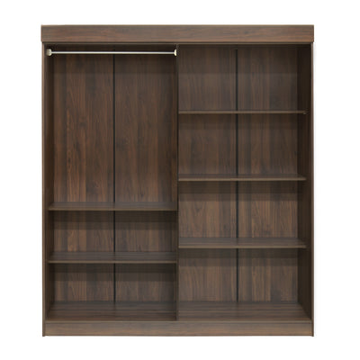Edward 4 Door Wardrobe (Walnut)
