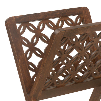 Enoc Magazine Rack (Walnut)