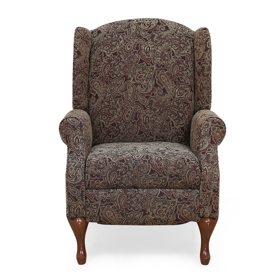 Erin 1 Seater Sofa with 1 Manual Recliner (Paisley)