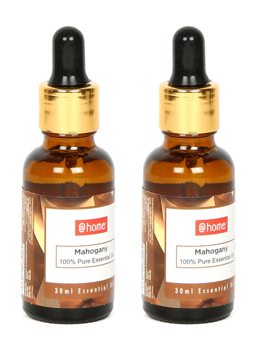 Mahagony 30 ml Essential Oil Set of 2 (Gold)