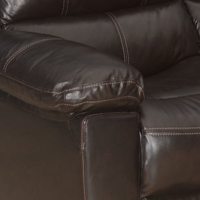 Ethan Two Seater Sofa (Russet Brown)