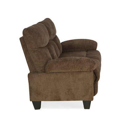 Fawn Two Seater Sofa (Brown)
