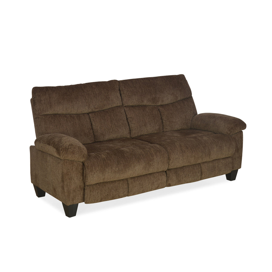 Fawn Three Seater Sofa (Brown)