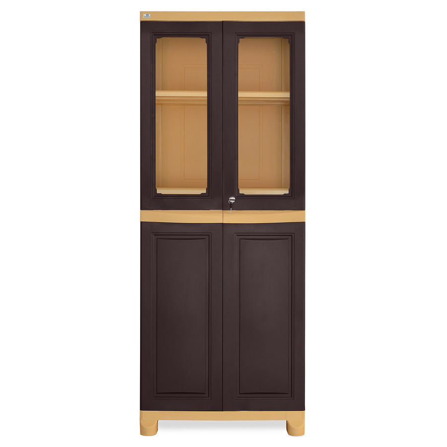 d19a22522dc Nilkamal FB2 Freedom Cupboard (Weather Brown   Biscuit)