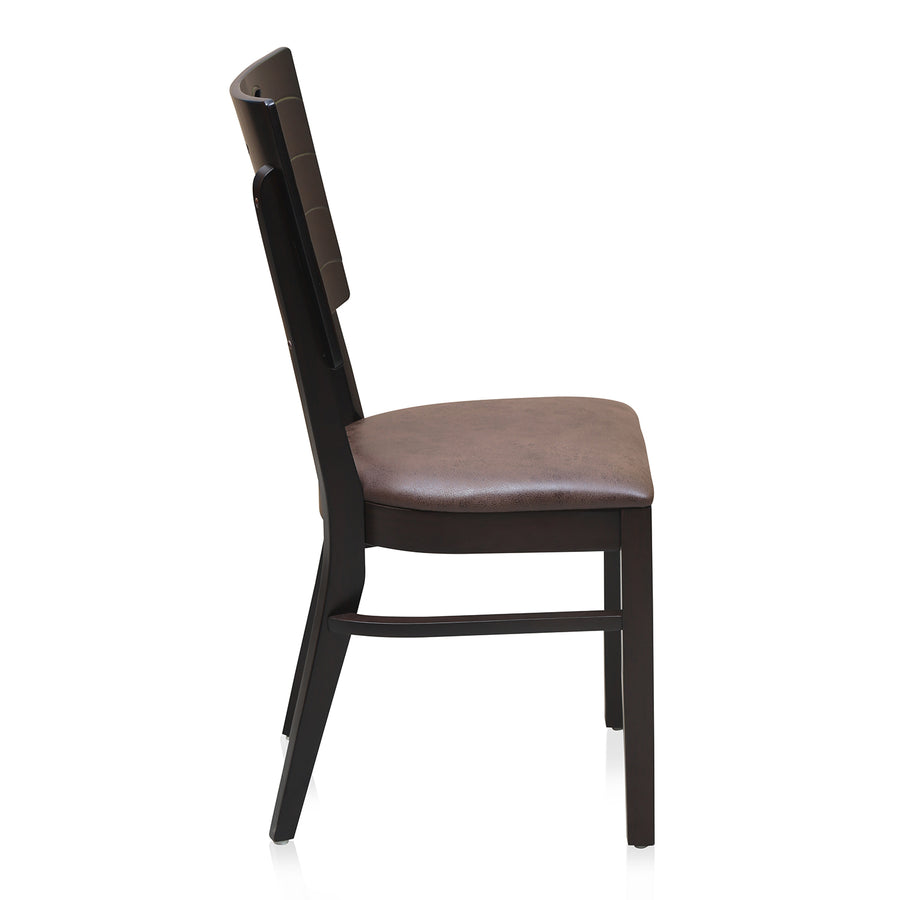 Fern Dining Chair (Erin Brown)