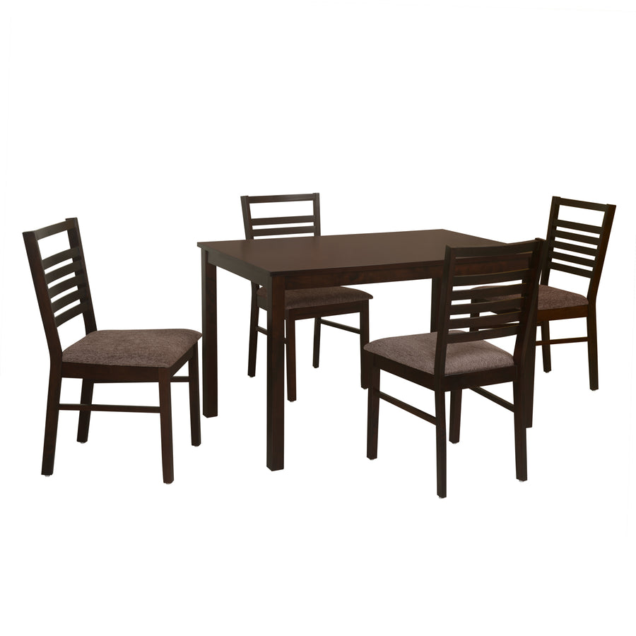 Gem Four Seater Dining Set (Cappucino)