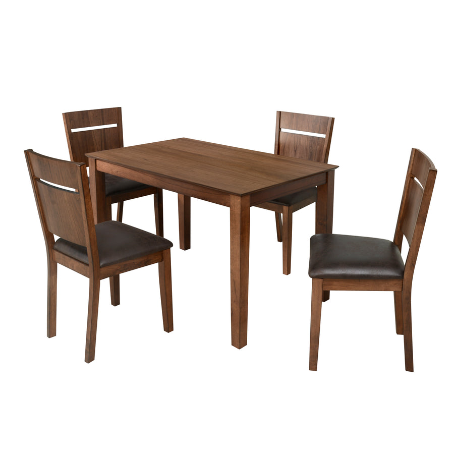 Jessica 4 Seater Dining Set (Mindi Brown)
