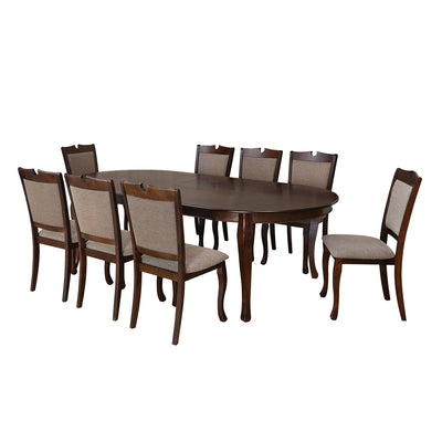 New Port Eight Seater Dining Set (Cappucino)