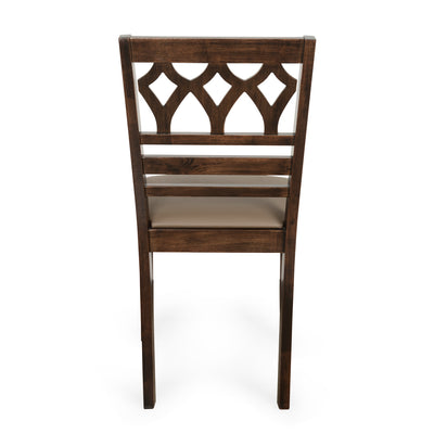 Rise 4 Seater Dining Set (Antique Cherry)