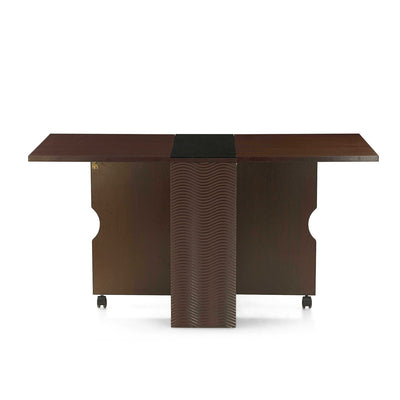 Gypsy Four Seater Foldable Dining Table (Dark Walnut)