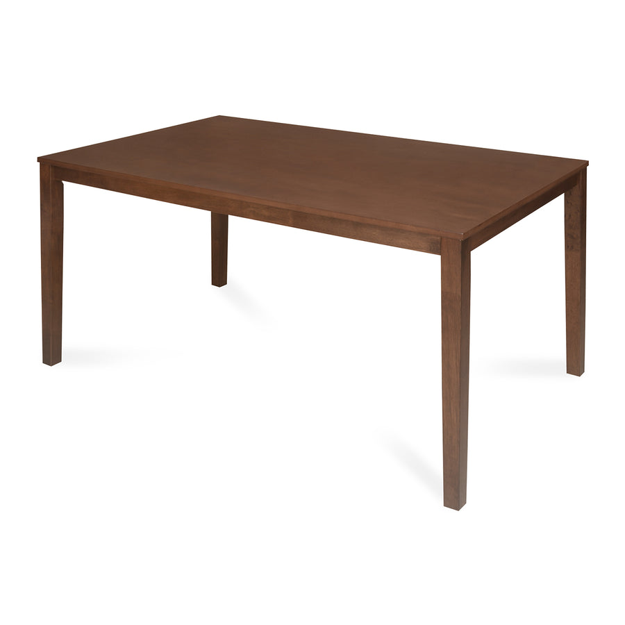Jewel Six Seater Dining Table ( Walnut)