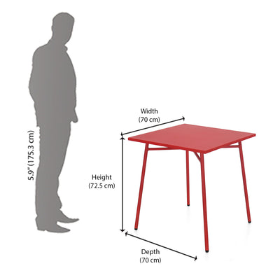 Berry Garden Table (Red)