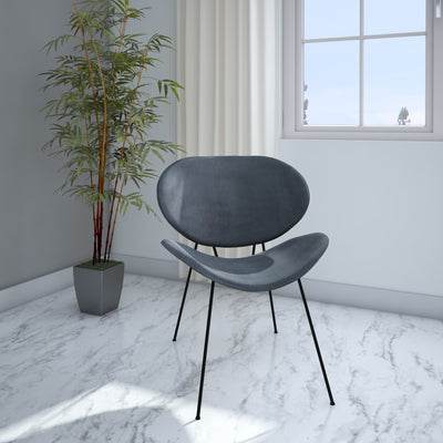 Smile Occassional Chair (Grey)