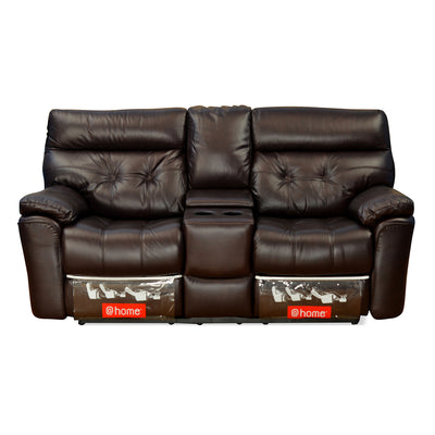 Beverly Home Theater Two Seater Sofa (Burgundy)