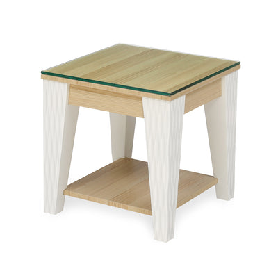Baalbek Side Table (White)
