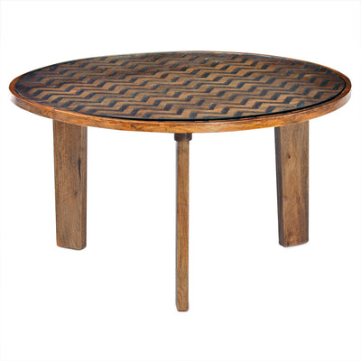 Fabio Center Table (Natural)
