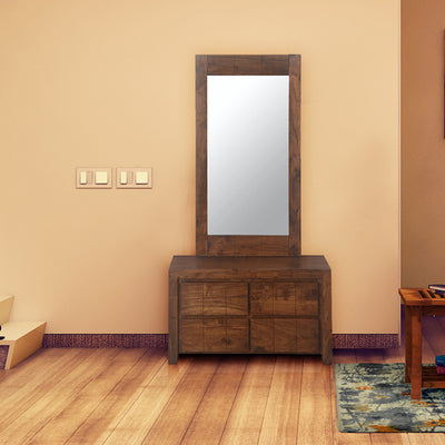 Amelia Dresser With Mirror (Espresso)