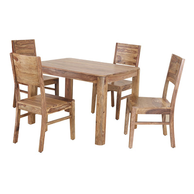 Miracle Four Seater Dining Set (Walnut)