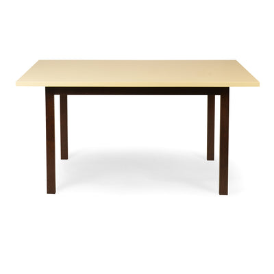Neo Seoul Six Seater Dining Table (Ivory)