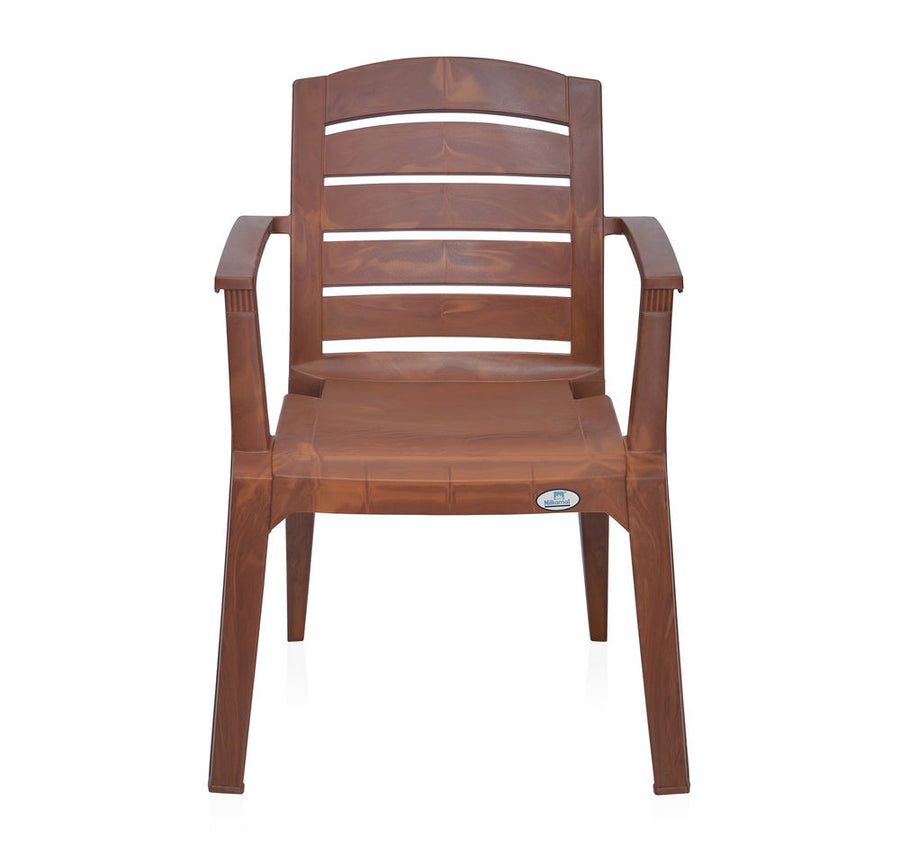 Nilkamal Passion Garden Chair Set of 6 (Mango Wood)
