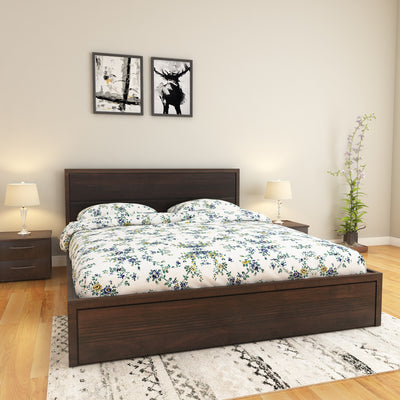Roman Queen Bed without Storage (Wenge)