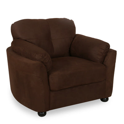 Hawaii One Seater Sofa (Choco Brown)