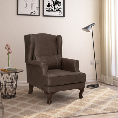 Lucy Arm Chair (Brown)